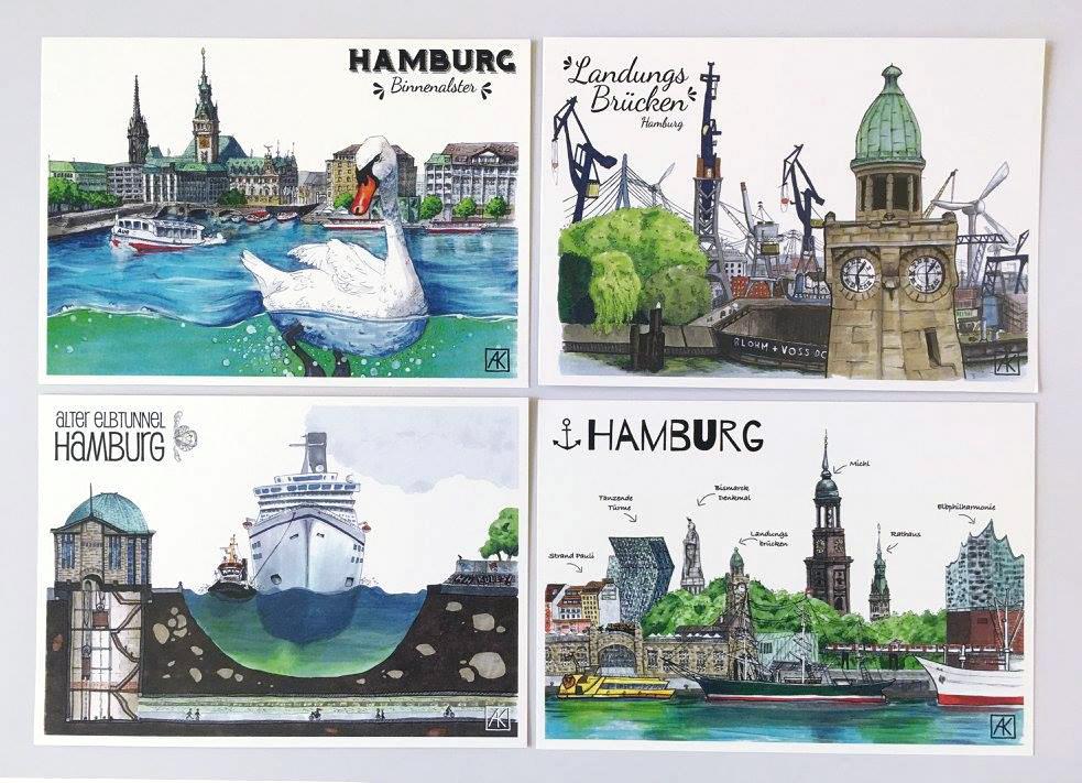 Wir produzieren lokal in Hamburg